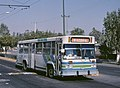 Ruta 100 bus in Tláhuac - 1995.jpg