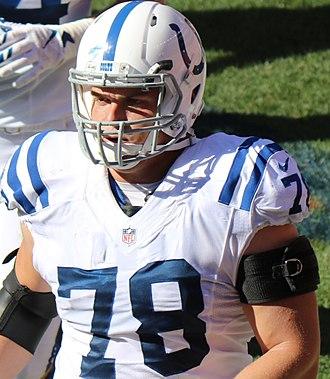 Ryan Kelly (American football) - Kelly in the 2016 NFL season.