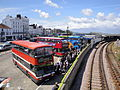 Ryde bus station during Isle of Wight Festival 2011 4.JPG