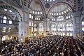 Süleymaniye Mosque prayer, Istanbul, Turkey, Eastern Europe and Western Asia. 22 July,2016.jpg