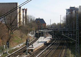 Berlin Prenzlauer Allee station - Platforms