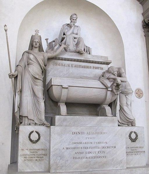 S. croce, cenotafio di dante