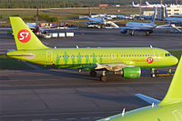 VP-BTS - A319 - S7 Airlines