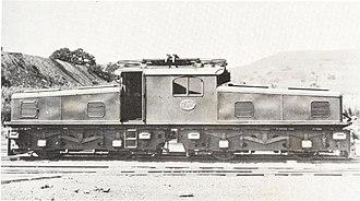 South African Class ES - Image: SAR Class ES E 97 (Renumbered E501)