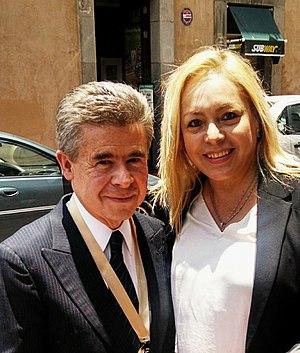 Enrique Burgos García - Image: SENADOR ENRIQUE BURGOS GARCIA, LIC. MARIA LOURDES PALOMARES