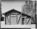 SIDE, LOOKING WEST - Mount McKinley Headquarters, Ranger Cache and Garage, Cantwell, Denali Borough, AK HABS AK,23-MCKIN,1-H-2.tif
