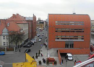Grodzka Street in Bydgoszcz street in Bydgoszcz