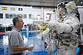 STS-130 Training Neutral Buoyancy Laboratory Behnken.jpg