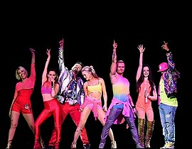 S Club 7 in Bournemouth (2015)