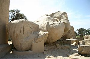 Temple of a million years of Rameses II - Ozym...