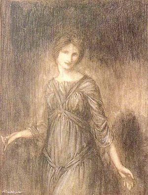 Sadhbh (name) - Illustration of Sadb by Arthur Rackham, 1910