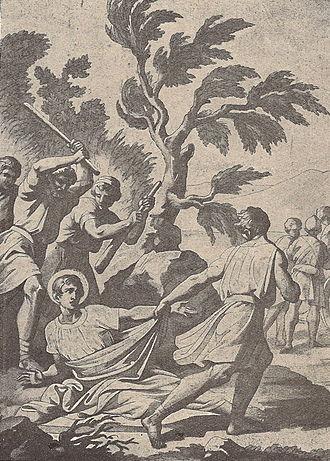 Sabbas the Goth - Saint Sabbas's martyrdom