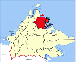 Location of Beluran