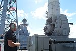 Sailors fire Phalanx close-in weapons system 140905-N-GW918-003.jpg