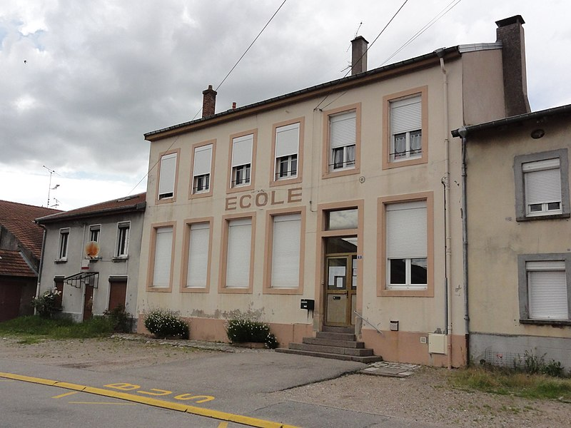 Saint-Clément (M-et-M) école