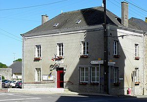 Saint-Germain-le-Guillaume (53) Mairie.JPG
