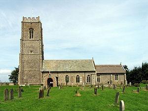 Bacton, Norfolk - Image: Saint Andrew Bacton