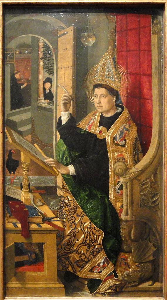 File:Saint Augustine, 1477-1485, By Bartolome Bermejo