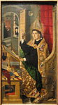 Saint Augustine, 1477-1485, by Bartolome Bermejo - Art Institute of Chicago - DSC09620.JPG