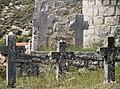 Saint George Orthodox Church in Prljaca Trebinje Graveyard Detail.jpg