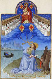 Las Visiones de Juan el Evangelista, de Très Riches Heures du Duc de Berry