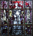 Saint Margaret of York Catholic Church (Loveland, Ohio) - stained glass, the Pearl of York.jpg