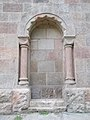 Saint Vincent de Paul church (1936). Blind door. - Budapest.JPG