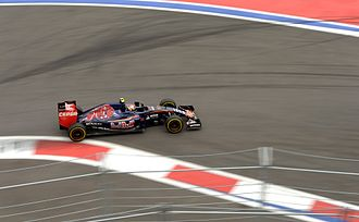2015 Russian Grand Prix - Carlos Sainz Jr. had a bad accident in the third practice session.