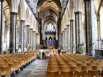 Elias of Dereham - Image: Salisbury Cathedral interior