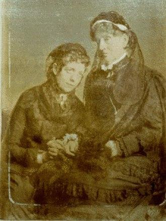 Sarah Polk Fall - Sallie with her aunt Sarah