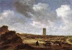 Salomon van Ruysdael - View of Egmond aan Zee - WGA20562.jpg