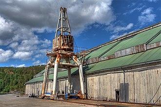 Salsbruket - View of the old lumber mill