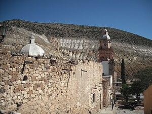 Real de Catorce - Templo de la Purisima Concepcion, a parish church containing a reputedly miraculous image of St. Francis