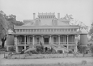 Frances Parkinson Keyes - San Francisco Plantation House in 1938