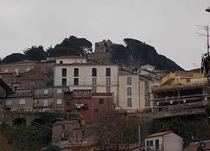 San Giorgio Morgeto - San Giorgio Morgeto, with the castle.