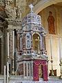 San Giovanni Battista, tabernacolo altare maggiore (Agna).JPG