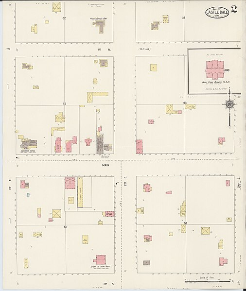 File:Sanborn Fire Insurance Map From Castle Dale, Emery