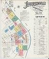 Sanborn Fire Insurance Map from Jeffersonville, Clark County, Indiana. LOC sanborn02374 002-1.jpg