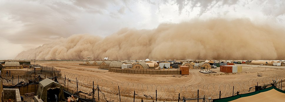 Sand Storm in Afghanistan MOD 45158327