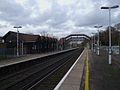 Sanderstead station look north.JPG
