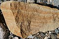 Sandstone at riverbed of Imaide River.jpg