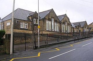 Sandy Lane, West Yorkshire Village and civil parish in West Yorkshire, England