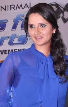 Sania Mirza, Mahesh Bhupathi at the NDTV Marks for Sports event 14 (cropped).jpg