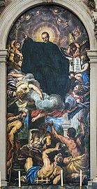 Santa Giustina (Padua) - St. Maurus the Abbot by Valentin Le Fèvre