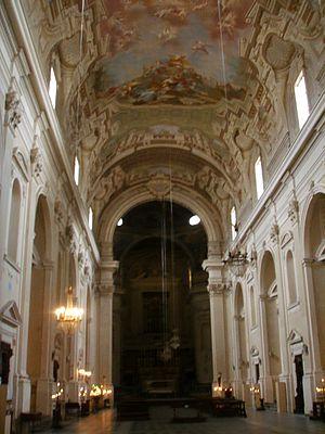 Santa Maria del Carmine, Florence - The interior.