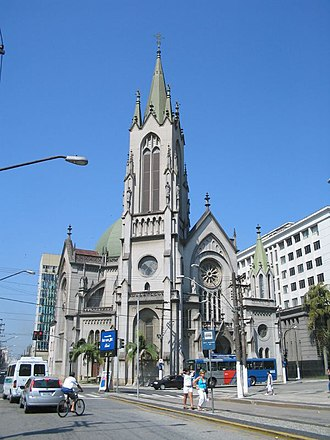 Roman Catholic Diocese of Santos - Cathedral of Our Lady of the Rosary