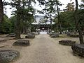 Sanuki-kokubunji kondou-ato and hondou.JPG