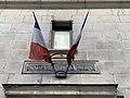Sapeurs-pompiers Rue Corneille (Lyon) - drapeaux.jpg
