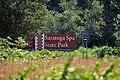 Saratoga Spa State Park (sign), Saratoga Springs, New York.jpg