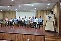 Satyajit Narayan Singh Anchoring - Ganga Singh Rautela Retirement Function - NCSM - Kolkata 2016-02-29 1318.JPG